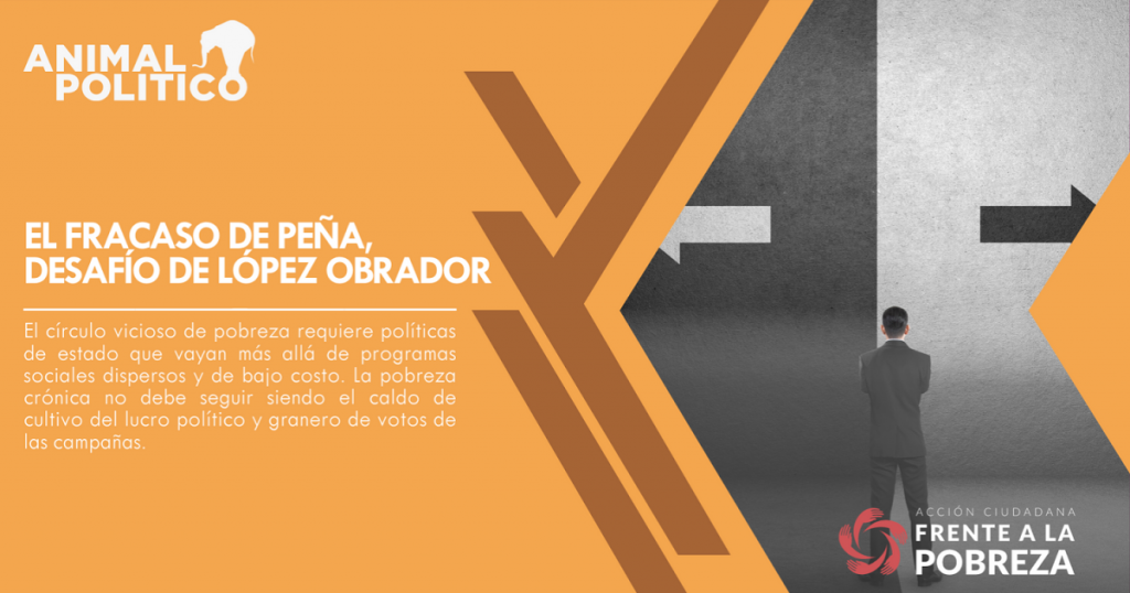 El fracaso de Peña, desafío de López Obrador