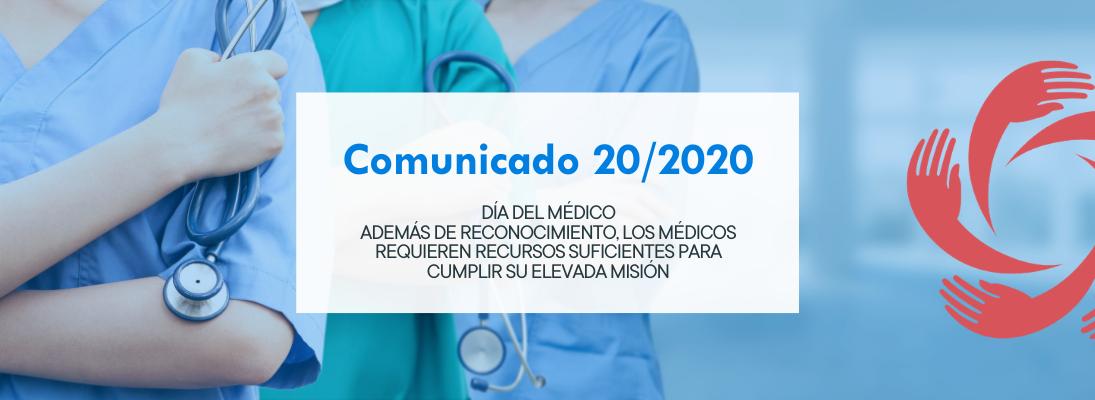 Banner comunicado 20/2020