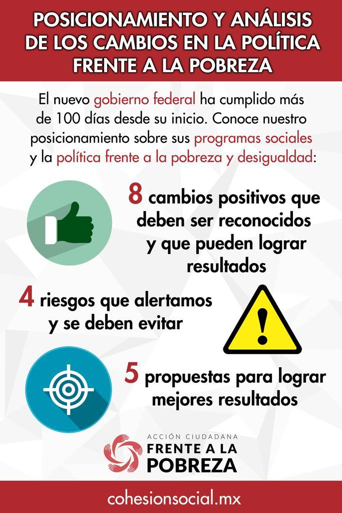 Cambios en 100 días de gobierno en México