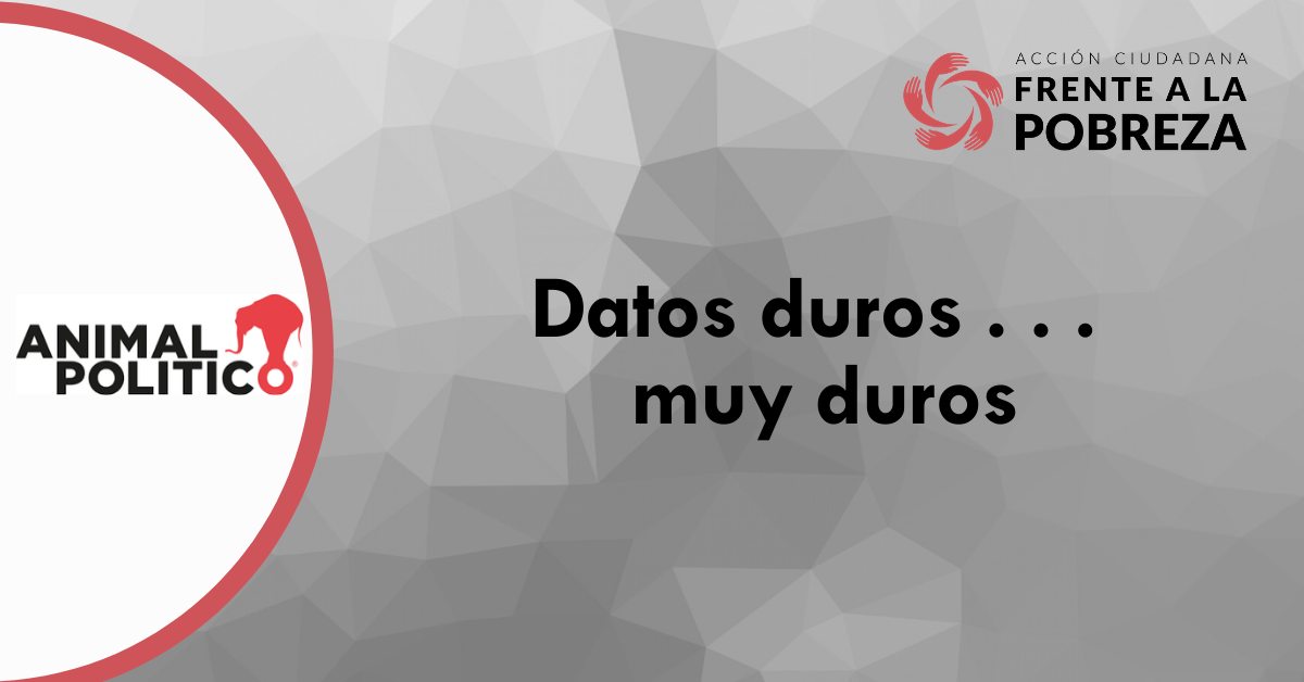 Blog de Animal Político: Datos duros . . . muy duros